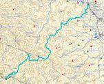 Ogoseagano_trekking_map