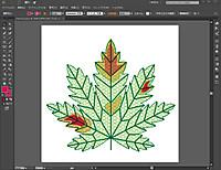 Ai_colored_leaf